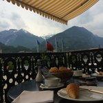 Nice spot for petit dejeuner!