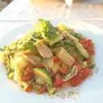 Vegetable salad. Hmmm so tasty!Fantastic!