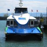Catamaran ferry to Zepplin Museum is worth it!