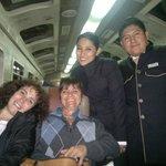 Gabriela y Jose Luis parte de su staff, excelentes personas.