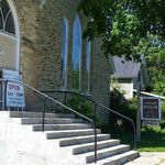 The Montague Museum stands on the corner of Church and Sheridan Streets, within walking distance