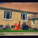 Be sure to check out the basement as well as the museum yard for old farm implements, historic s