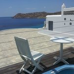 Our view, Taken from the spacious decking area with Jacuzzi,