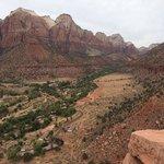 Watchmans Trail Peak Zion