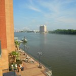 The view from room 460 river front side.