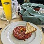Plachutta Gasthaus zur Oper, Vienna Austria - Steak Tartare