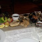 the mixed fish grill
