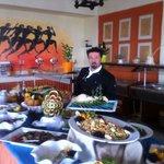 Chef d' hotel Monsieur Giannis Nyktaris