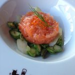 salmon tartar @ Grill Royal