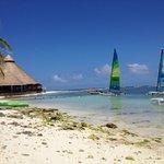 Sailing beach and 1/3 restuarants