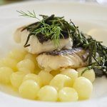 Hake and potatoes