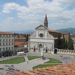 View from terrace towards Santa Maria Novella