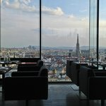 Sofitel Vienna Stephansdom - View from Top Floor Restaurant, Le Loft