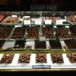 A small sample of the large amount of available treats.