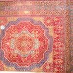 rug inside museum