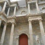 actual Roman ruins inside museum