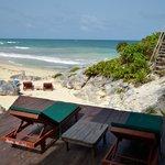 Playa para descansar y disfrutar del mar