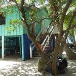 The fishermen/caretaker's house