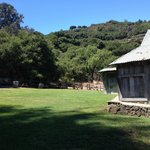 Quiet picnic area today