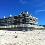Front West building, viewed from the beach