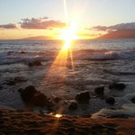 Sunsetting from Kamaole beach 2