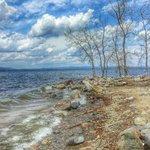 Great Sacandage Lake a few miles away