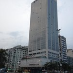 View of the hotel building