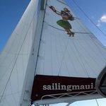 Hula Girl sail