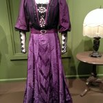A dress worn by Violet, the lace was amazing!