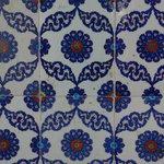 Mesquita de Rüstem Paşa- detalhe dos ajulejos