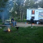camping site #9