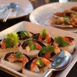 豆腐とピータンのサラダ:お勧め!