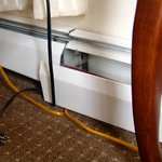 Cable Mess in Room 1203