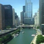 City view, Sheraton Chicago