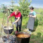 goulash & polenta
