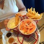 Shrimp was delicious
