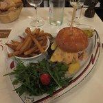 フランス風ハンバーガー