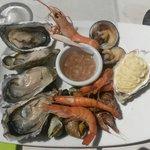 l'assiette de fruits de mer ... Une entrée !
