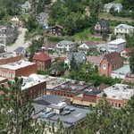The view overlooking Deadwood, SD