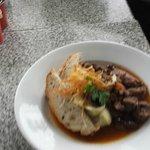 Lamb Rouge with mashed truffle potatoe