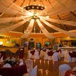 Decoracion del restaurante para boda y eventos.