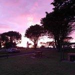 Sunset at Portland Bay Holiday Park