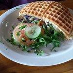 Vegetarian waffle
