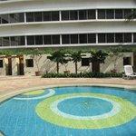 Pool in der 5. Etage