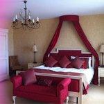 Bedroom in bridal suite