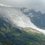 view from Chamonix