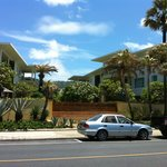 View of Residences from across the street on the beach
