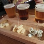 Beer and Cheese set.