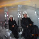 at the Ice Bar