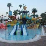 Один из детских бассейнов